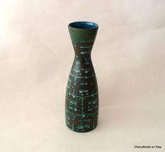 Carstens Tönnieshof 1219-30 vase with Ankara glaze variation . by Cherryforest on Etsy