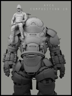 ArtStation - WIP Compositions; Steampunk Machinist , Aldo Vicente