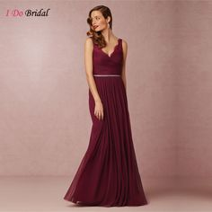 233b6b88768 Vintage Burgundy Bridesmaid Dresses Tulle Maroon Long Lace Maid of Honor  Dress For Weddings Floor Length
