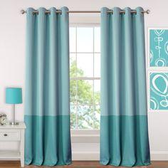 Elrene Madeline Juvenile Blackout Room Darkening Grommet Curtain Panel