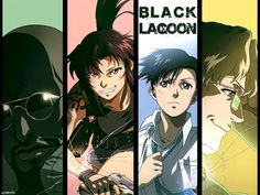 Black Lagoon #anime #blacklagoon