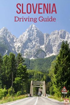 Slovenia Travel Guide - Driving information: Rules, speed limit, road signs, road conditions... | #slovenia #Ifeelslovenia | Slovenia Road Trip | Slovenia itinerary #travelguide