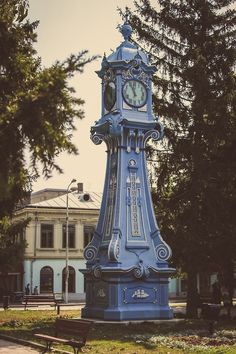 steampunktendencies: Braila, Romania (by. Beautiful Streets, Beautiful World, Beautiful Places, History Of Romania, Train Station Clock, Berlin, As Time Goes By, Abandoned Buildings, Eastern Europe