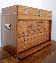 Gerstner wooden tool chest