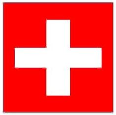 Switzerland  Flag 5ft x 3ft (Qty per unit: 1). Hang in any venue to show support for your country during Euro 2016. http://www.novelties-direct.co.uk/switzerland-flag-5ft-x-3ft-100-polyester-with-eyelets-for-hanging.html