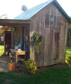 shed....I priced sheds/storage buildings & wood to make one today....ok does anyone have one that want to have me haul off for free :)