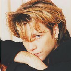 Jon Bon Jovi 1992. @glaammetal on Instagram