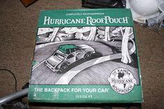 NOS KANGA Hurricane Roof Pouch, Weatherproof, 14 cu. ft. Roof Rack Carrier Bag  #Kanga