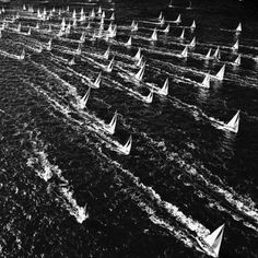 "kurtarrigo: ""Throwback from Barcolana #sail #Mediterranean #yachtracing #blackandwhite #takemethere """