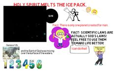 Video 5 Genesis Holy Spirit melts the ice pack on chaotic earth. Bible Doctrine, Genesis 1, Ice Pack, Holy Spirit, Timeline, Surface, Facts, God, Feelings