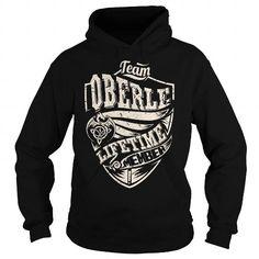 I Love Team OBERLE Lifetime Member (Dragon) - Last Name, Surname T-Shirt T shirts