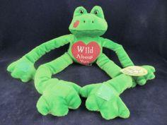 Berkeley Designs Funkee Frogs Green Wild About You Plush Stuffed Frog Animal | eBay
