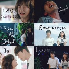 School 2017 Kim Jung Hyun as Tae Woon and Kim Se Jeong as Eun Ho. Hyun Kim, Jung Hyun, Kim Jung, School2017 Kdrama, Kim Book, 2017 Quotes, Korean Drama Quotes, Drama Funny, Happy Memes
