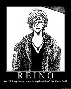 Skip Beat - Reino, the creepy psychic psychostalker.