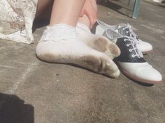Blaze hates wearing shoes, especially this pair, since they don't fit right, since Judy gave them to her and her feet are a size smaller than Blaze's. Dolores Haze, Nicole Dollanganger, The Virgin Suicides, Beverly Marsh, Nancy Wheeler, Skins Uk, Moonrise Kingdom, Spring Awakening, Lolita