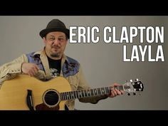 Eric Clapton Unplugged - Layla Guitar Lesson - Acoustic Blues - How to P. Blues Guitar Lessons, Acoustic Guitar Lessons, Guitar Lessons For Beginners, Guitar Chords, Guitar Tips, Acoustic Guitars, Music Lessons, Acoustic Music, Piano Lessons