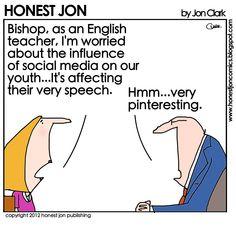 HONEST JON.    I love this cartoonist.