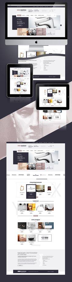 XYZ shop on Behance