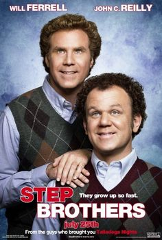 This Step Brothers is one of my favorite movies because it shows how the brothers fight and make up, just as me and my brother do. It is also very funny All Movies, Funny Movies, Comedy Movies, Great Movies, Movie Tv, Funniest Movies, Awesome Movies, Horror Movies, Step Brothers Quotes