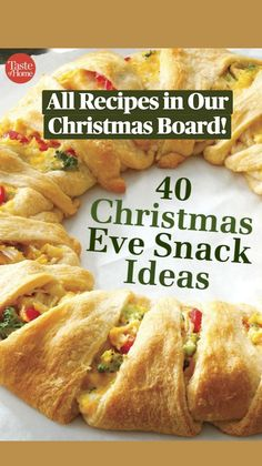 Christmas Eve Dinner, Christmas Party Food, Xmas Food, Christmas Cooking, Christmas Foods, Holiday Recipes, Holiday Meals, Christmas Recipes, Appetizer Recipes
