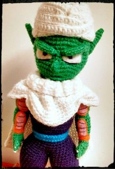 #piccolo #crochet #dragon ball