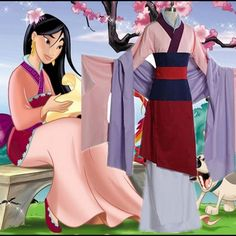 Cheap mulan dress, Buy Quality dress cosplay directly from China cosplay costume Suppliers: Adult & Children Kid Girl Princess Mulan Dress Cosplay Costum Outfit Halloween / Stage / Party Costume Gift Clothing Custom Made Costume Mulan, Mulan Halloween Costume, Halloween Kostüm, Halloween Cosplay, Costume Dress, Halloween Outfits, Pink Princess Dress, Disney Princess Dresses, Princess Costumes