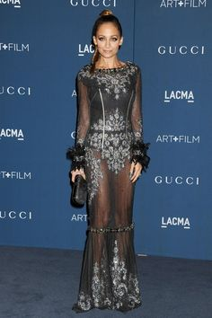 LACMA: Art and Film Gala, Los Angeles - November 2 2013  Nicole Richie in Gucci ang she looks stunning!!!