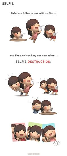 """Check out the comic """"HJ-Story :: Selfie"""" http://tapastic.com/episode/85394"""