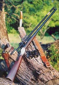 "Vintage-firearms. Looks like the rifle is from, ""Quigley Down Under."""