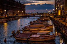 Canale Ponterosso verso il mare Triesteraccontatrieste