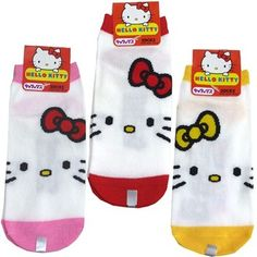 Get these cute Hello Kitty socks at Rakuten Global Market