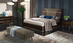 Accademia bedroom set by ALF