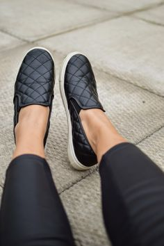 @nicolesong spotted a great Target Find - the Mossimo Dedra Quilted Slip-on in Black. These casual, low-top sneakers are the perfect combo of comfort and style!