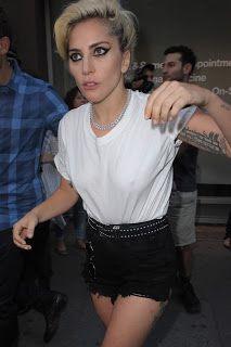 FOTOS HQ: Lady Gaga dejando el estudio Electric Lady Nueva York (Septiembre 16)   Hey Lady Gaga