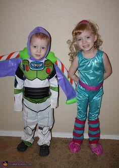 Toy Story 3: Buzz & Barbie! - Halloween Costume Contest