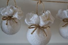 Thrift My House: Sweater Ornament Tutorial