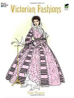 Victorian Fashions Coloring Book de Tom Tierney http://www.amazon.fr/dp/0486299171/ref=cm_sw_r_pi_dp_Jt.hub185GZ3E