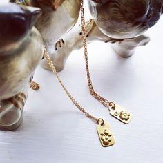 #pricetags #inchains #halskæder #18kt #gold #guld #guldsmed #diamond #diamant #jewellery