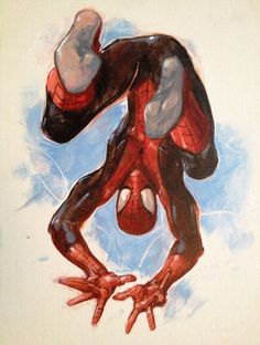 Spiderman by Clayton Crain Marvel Comics, Comics Anime, Comic Manga, Ms Marvel, Marvel Art, Marvel Heroes, Marvel Avengers, Poster Marvel, Superhero Poster