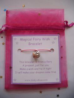 Magical Fairy Wish Bracelet HELLO KITTY Charm by DengraDesigns, $1.75