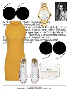 """""""Untitled #147"""" by belma11 ❤ liked on Polyvore featuring Converse and Movado"""