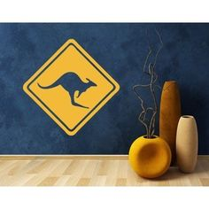 Style and Apply Kangaroo Marker Wall Decal (8in x 8in )