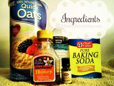 Natural Homemade Oatmeal Dog Shampoo Ingredients