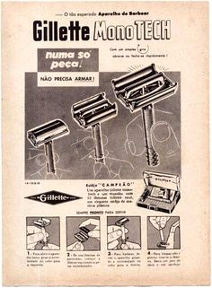 Gillette Monotech.