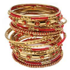 Amrita Singh Bangle Bangle Collection, Ashwarya Bangle Set (Emerald, Size 6) Amrita Singh, To buy To SEE or BUY just CLICK on AMAZON right here  http://www.amazon.com/dp/B005KENMQA/ref=cm_sw_r_pi_dp_W1bFtb1APTRVE8E2