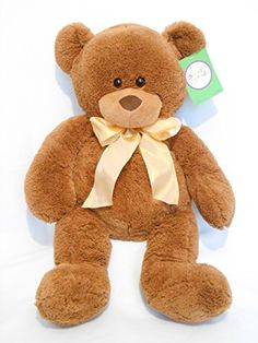 """26"""" Long Sweet Sprouts Brown Bear Animal Adventure https://www.amazon.com/dp/B00TI1XTLE/ref=cm_sw_r_pi_dp_x_UDniybAQM8836"""