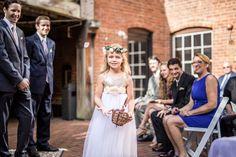 real weddings, wedding photography ideas, outdoor weddings, wedding ceremony, flower girl, flower girl dress, The Historic Brookstown Inn, Winston Salem