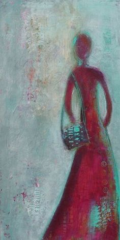 Scrivener Art & DesignFigurative Artwork —Patt Scrivener AFCA . Canadian Abstract Artist . A Night To Remember, Rhythm And Blues, Soul Sisters, Beautiful Mind, Figure Painting, Figurative, Lady In Red, Mystic, Ink