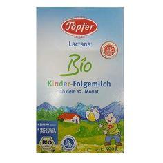 Topfer Kinder Formula Bio de Lapte praf, luni, 500 g, Topfer - articole copii recomandate pentru Formule lapte Thing 1, Formulas, Personal Care, Biotin, Vitamin D, Bebe, Milk, Kids, Self Care