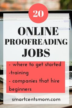 20 companies that hire for general proofreading and editing. Find proofreading jobs from home and ways to make money proofreading Earn Money From Home, Make Money Fast, Earn Money Online, Make Money Blogging, Money Tips, Money Hacks, Blogging Ideas, Saving Money, Work From Home Opportunities